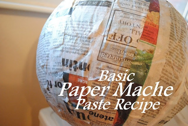 How to make paper mache paste crafts make your own craft for Paper mache pulp