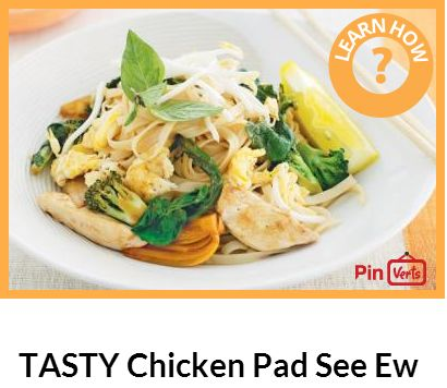 Chicken Pad made easy! Try this chicken pad see ew, it has noodles ...