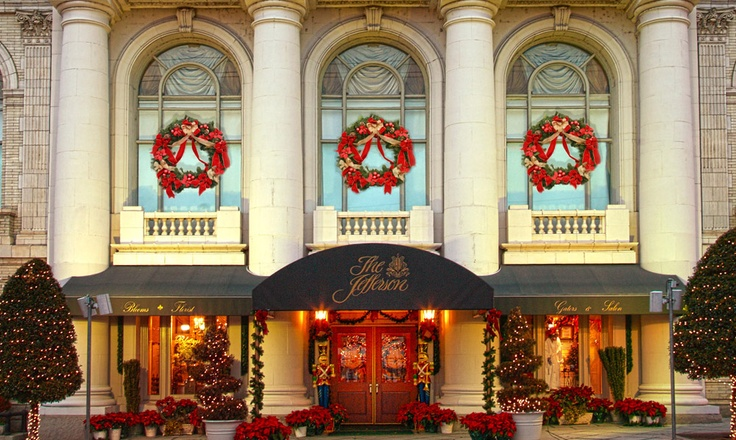 the jefferson hotel richmond va merry christmas pinterest. Black Bedroom Furniture Sets. Home Design Ideas