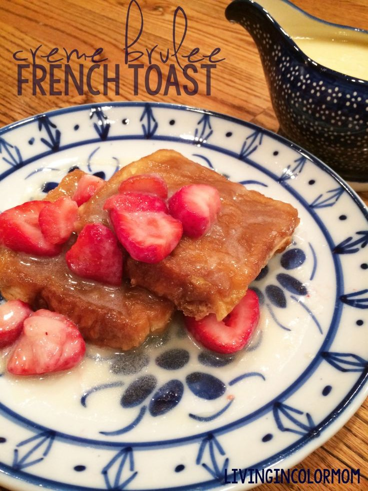 Special Occasion Overnight Creme Brulee French Toast Recipes ...