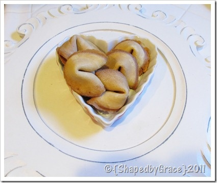 make your own fortune cookies |