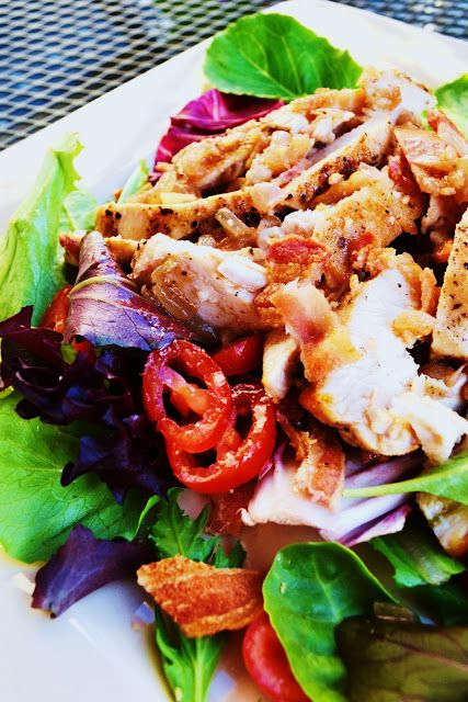 Chicken BLT Salad | Salad Bar & Dressings | Pinterest