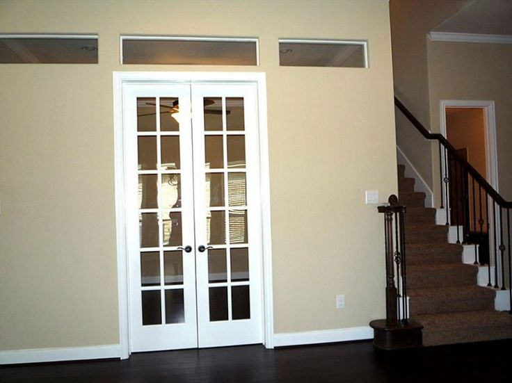 nice small french doors basement pinterest