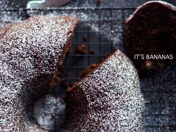Chocolate-Banana Bundt Cake | Recipe