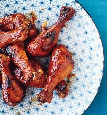 Apricot-Glazed Chicken | Recipe