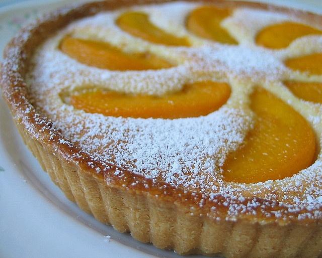 Peach Tart | Desserts & Drinks | Pinterest