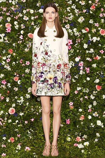Gucci Resort 2013 jacket + floral