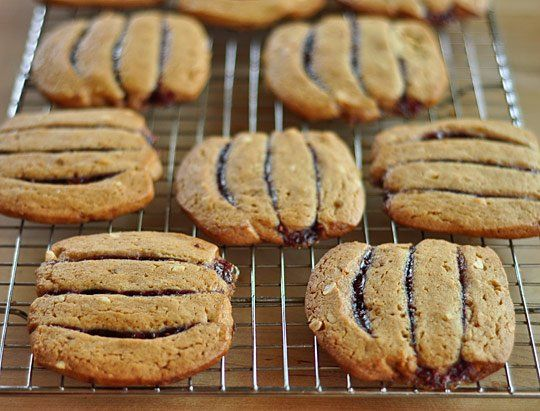 Peanut Butter and Jelly Icebox Cookies | Recipe