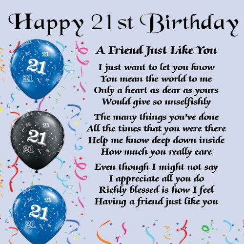 Birthday Quotes For Brother Turning 21 : Modal title