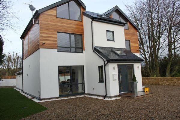 modern house western red cedar