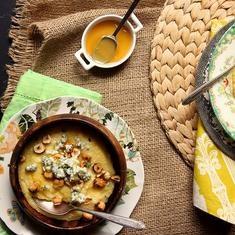 Blue Cheese, Hazelnut, And Honey Polenta | Food | Pinterest