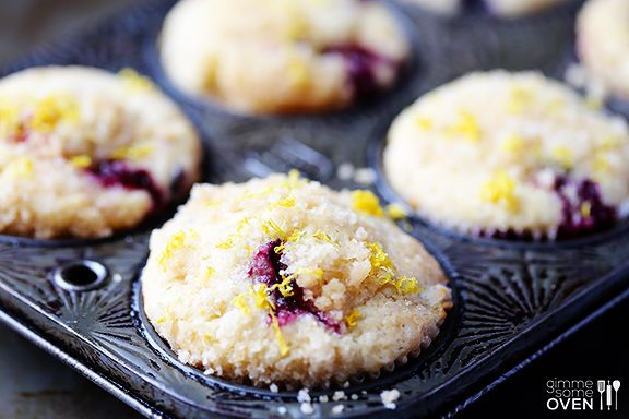 Lemon Blueberry Muffins   Eat and Sip in the City Blog Pics   Pintere ...