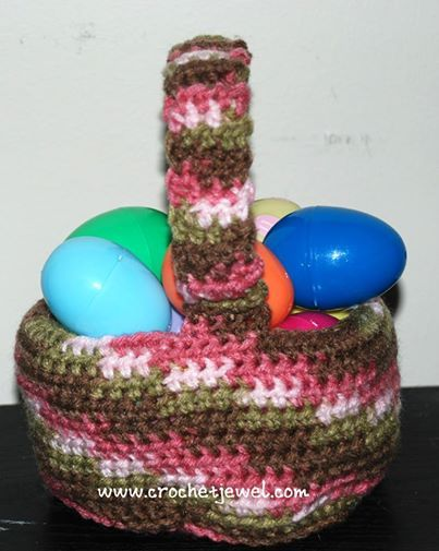Crochet Easter Basket : Crochet Easter Basket, Crochet Easter Basket