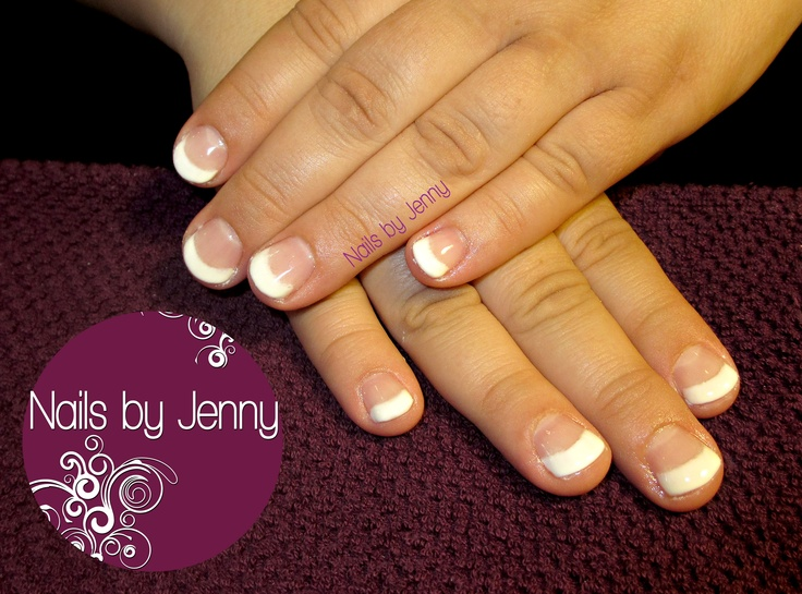 Gel Fill - French | Nails by Jenny | Pinterest