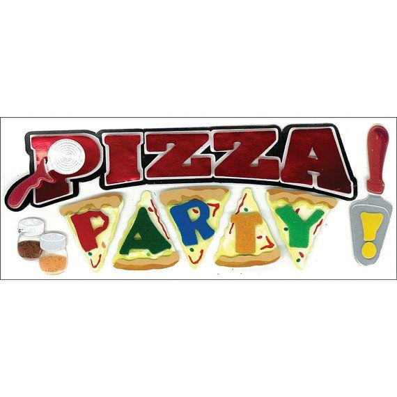 Pizza Party - Jolee Boutique Dimensional Sticker