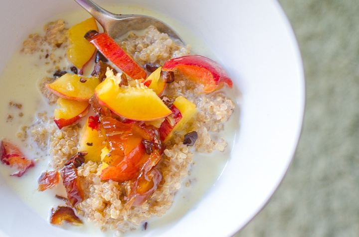 Quinoa Porridge | recipes to try | Pinterest