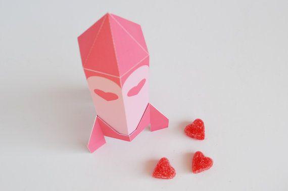 valentine paper box crafts