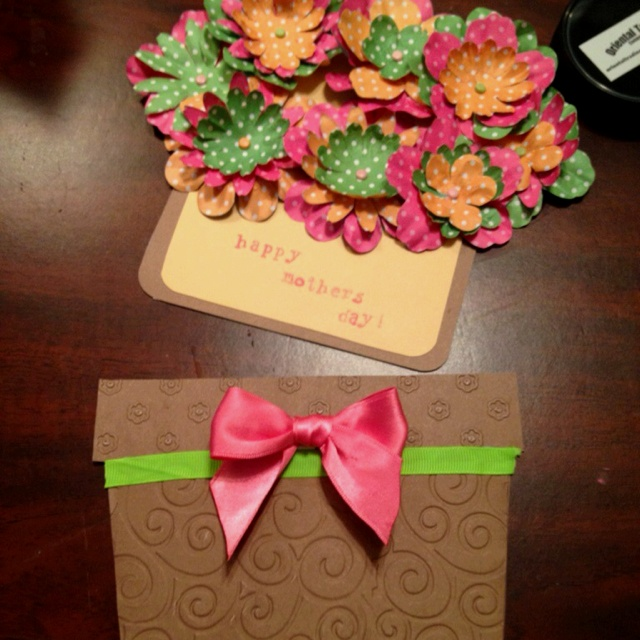 Flower pot card !