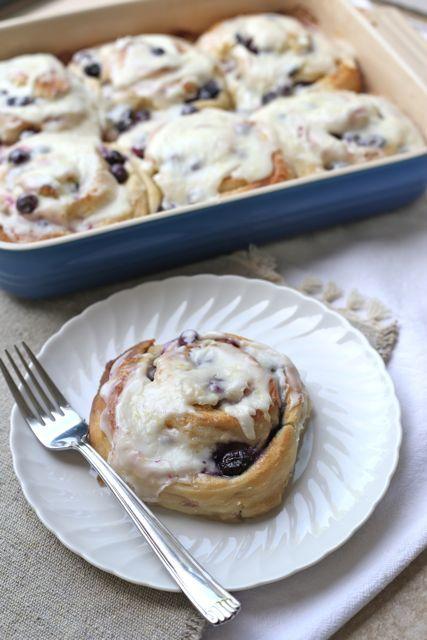 Blueberry Lemon Sweet Rolls | recipes | Pinterest