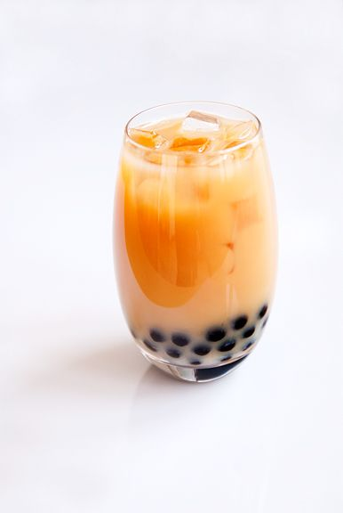 Bubble tea. one of my FAVORITE drinks. Mmmm. I didnt know you could ...
