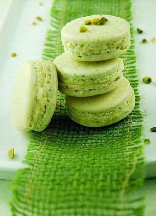 Pistachio Macaron | SHADES OF GREEN | Pinterest