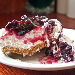 ... tight butt, Imma pin 4 pie recipes. No Bake Blueberry Cheesecake Pie