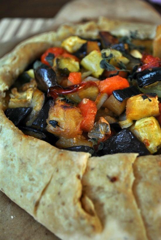 Roasted Vegetable Galette | Recipes | Pinterest