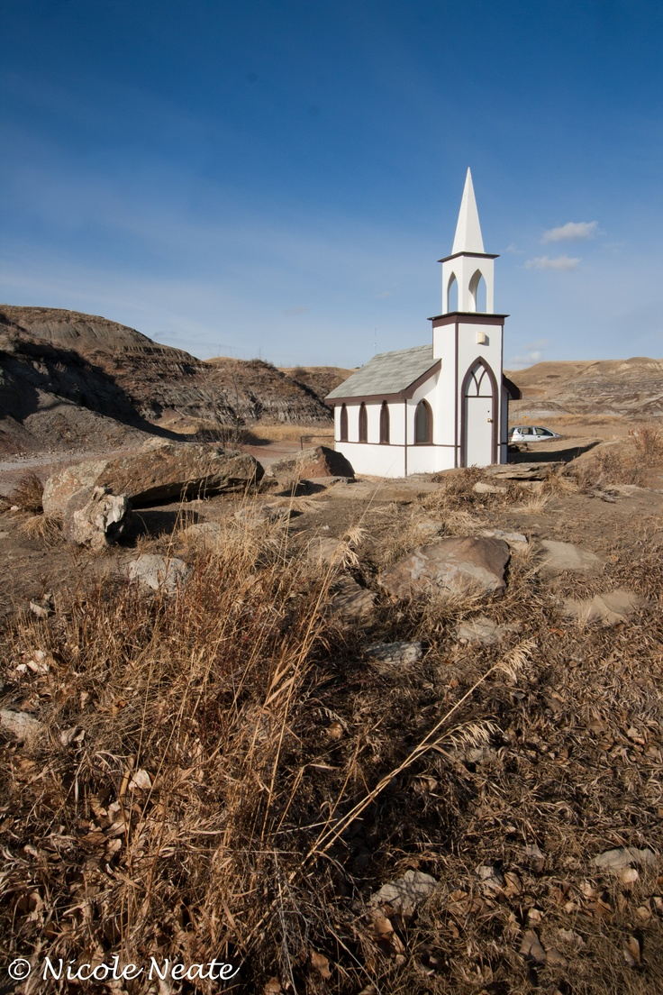 Drumheller (AB) Canada  city pictures gallery : Mini church near Drumheller, AB | O Canada | Pinterest