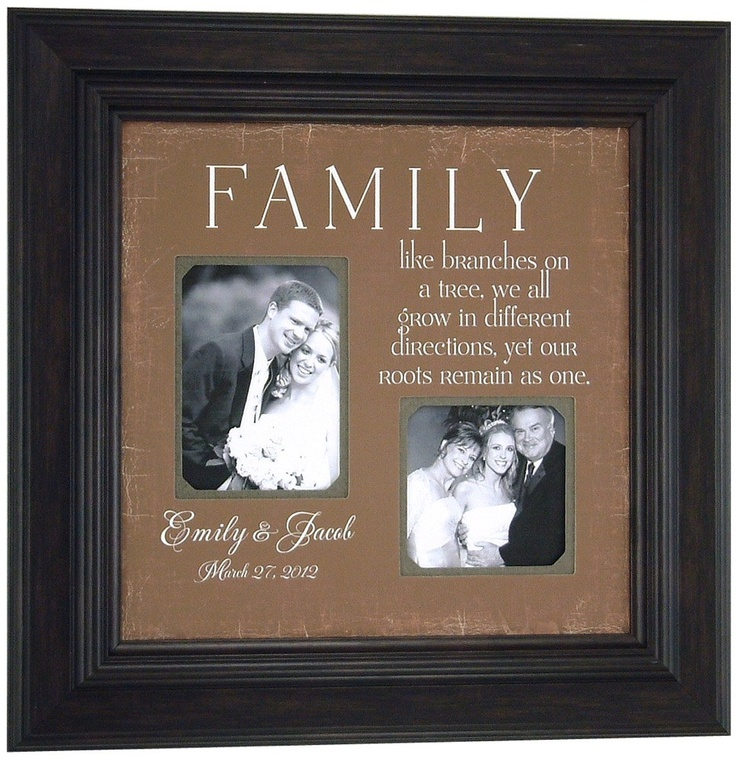 Unique Wedding Gifts Under USD75 : ... groom parents family like branches of a tree 16 16 USD 75 00 via etsy