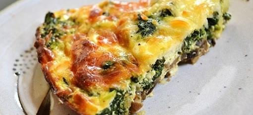Veggie Quiche with Potato Crust | Recipes - Vegetarian | Pinterest