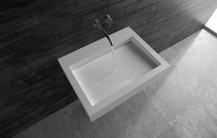 Solid Stone Sink : Solid Surface Stone Countertop Sink Want..... Pinterest