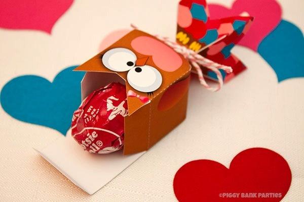 valentine's day lollipop flower