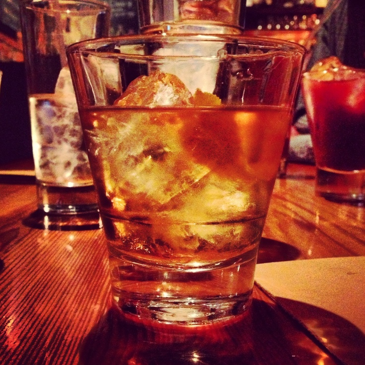 Old Fashioned made with Bulleit Rye. | Whiskey | Pinterest