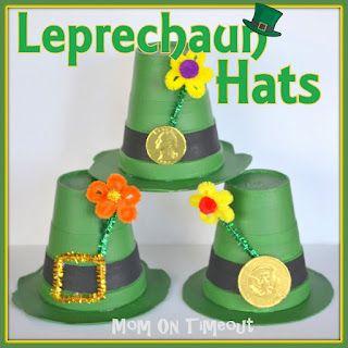 Leprechaun Hats {Craft}