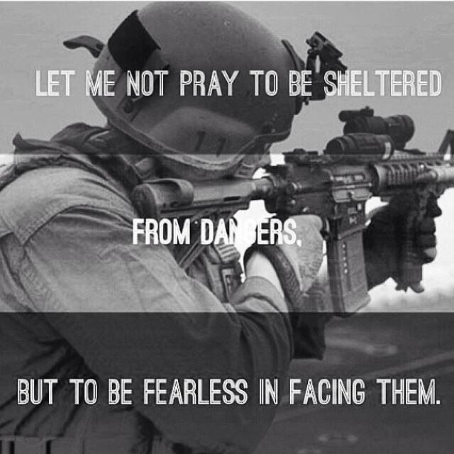 military quotes about fear quotesgram