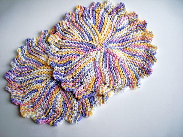 free ravelry pattern Crochet Dish Towels Pinterest