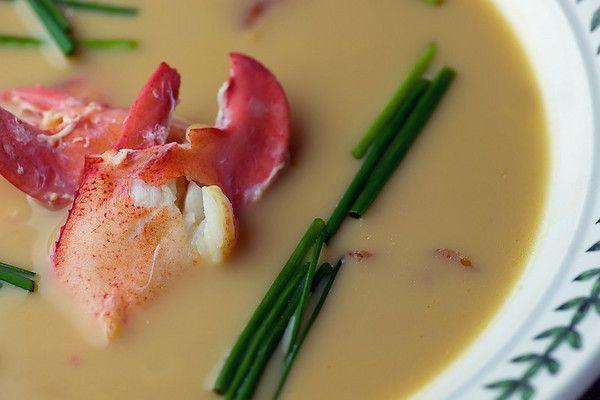 Lobster Chowder - Framed Cooks