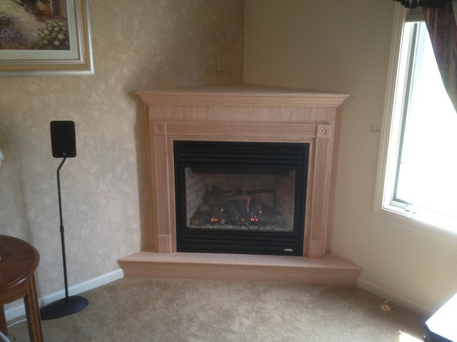 custom built oak cabinet by rochester fireplace via