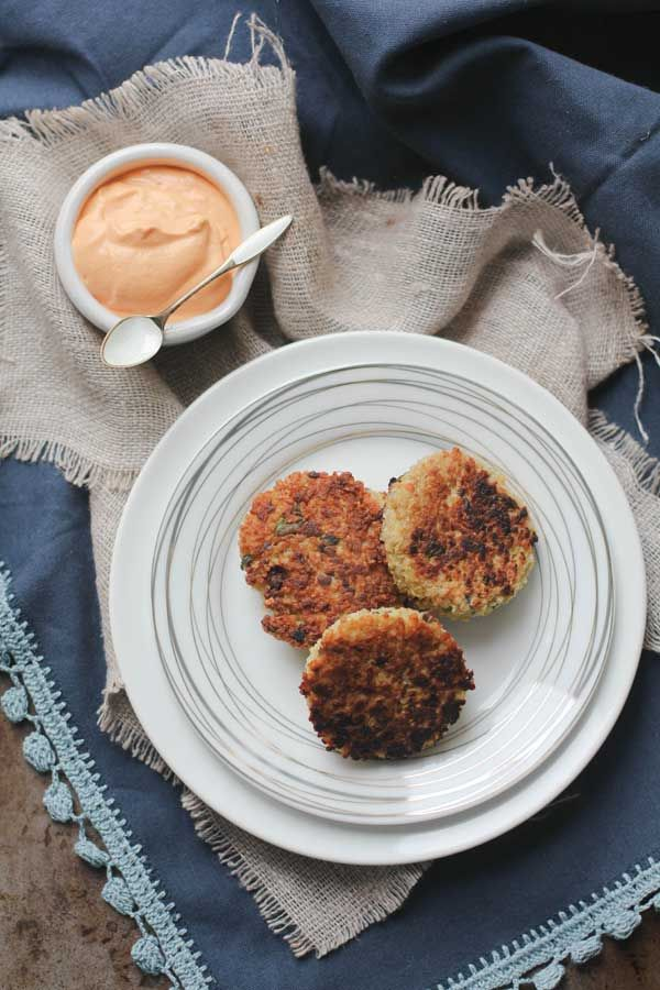 Quinoa Cakes With Basil And Parmesan Recipes — Dishmaps