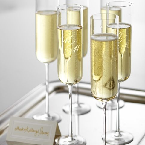 Classic Hand-Blown Champagne Flute | Mark and Graham