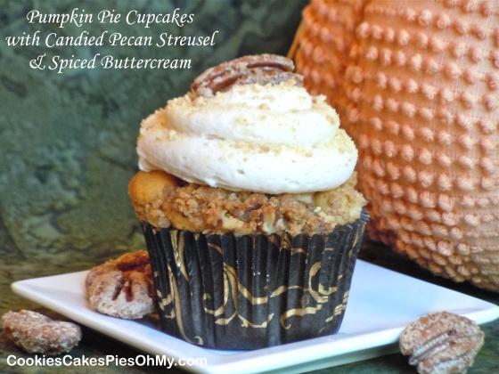 sugar pecan streusel orange spice pumpkin muffins with pecan streusel ...