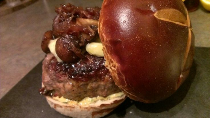 blue cheese burgers beef and andouille burgers with asiago cheese ...