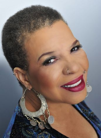Ntozake Shange, playwright/poet, 64