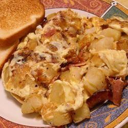 Bauernomlett (Farmer's Omelet) | Recipe