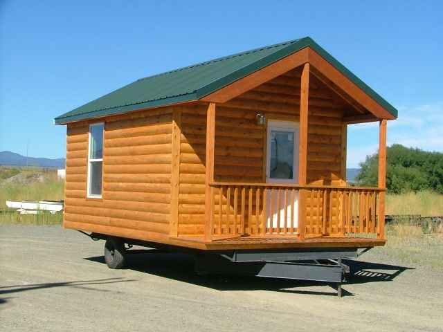 Rich 39 S Portable Cabins Tiny Homes Pinterest