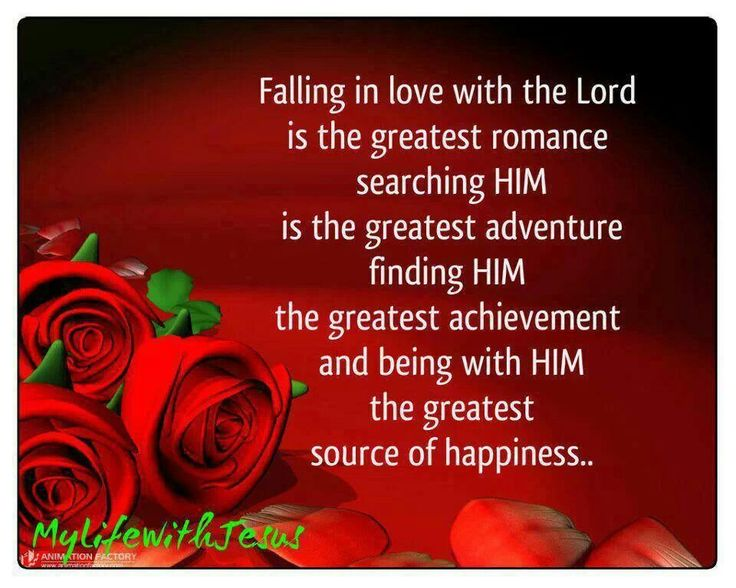 Falling in Love with Jesus... | Keeping Faith ...