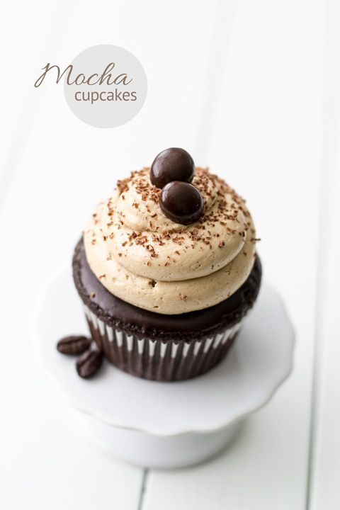 CHOCOLATE ESPRESSO CUPCAKES! | Something Sweet | Pinterest