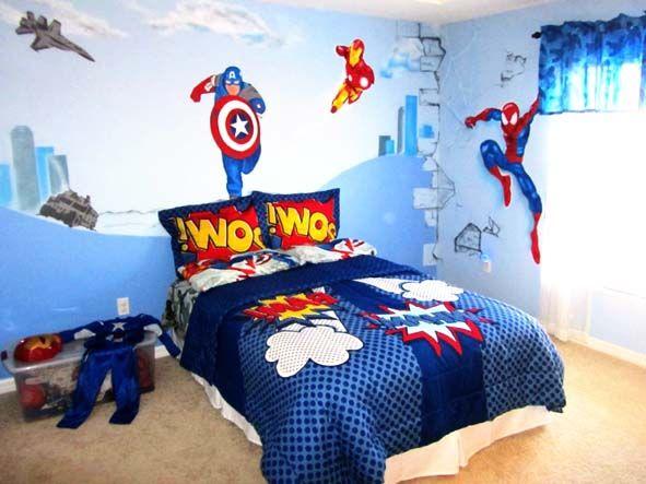 Bedroom 9 Cool Superhero Bedroom Ideas Superhero Bedroom Ideas On