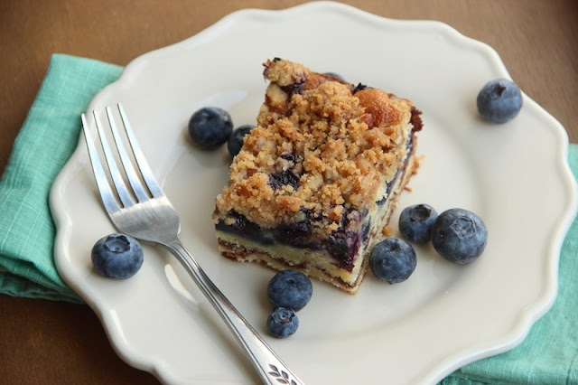 Old-Fashioned Blueberry Coffee Cake | desserts to try | Pinterest