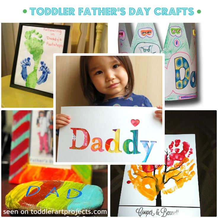 father's day crafts for toddler